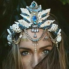 Mermaid crowns tumblr - Google Search