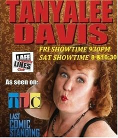 TanyaLee Davis Last Comic Standing, Comedy Events, Comedians