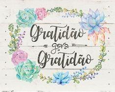 Painel Madeira fino - Gratidão Double Sens, Sunflower Wallpaper, Desiderata, Silhouette Projects, Decoupage, Clip Art, Lettering, Prints, Cards