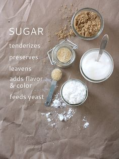 Sugar, Part 1: Why it is Important in Baking by Completely Delicious, via Flickr