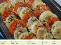 Root Vegetable Tian, Potato, Parsnip, & Sweet Potato, recipe from Cooking Planit #thanksgiving #side #recipe