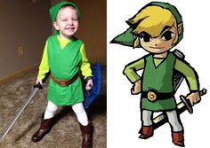 The Littlest Link- Kid Legend of Zelda Costume  sc 1 st  Pinterest & The Littlest Link- Kid Legend of Zelda Costume | Pinterest ...