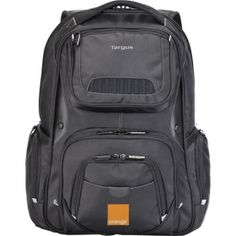 Promotional Products Ideas That Work: Targus® 16 legend iq backpack. Get yours at www.luscangroup.com