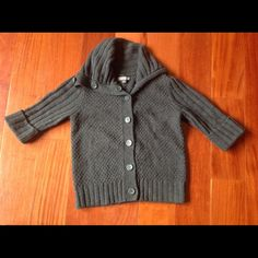 FOREVER 21 Dark Gray Button Sweater Jacket Small Forever 21 Dark Grayish Button  Sweater. Size S . Worn a couple of times. Forever 21 Sweaters