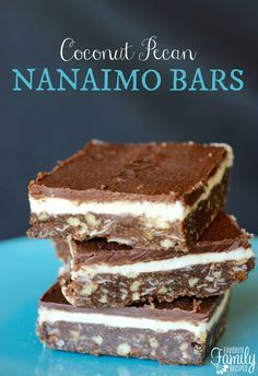 This rich, creamy, no bake dessert will have people begging you for the recipe. These Nanaimo Bars are the BEST.