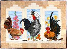 Kid Quilts Chicken Quilt And Block Of The Month On Pinterest