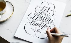Free Vintage Inspirational Text Mockup in PSD - DesignHooks Calligraphy Fonts, Modern Calligraphy, Script Fonts, Inspirierender Text, Inspirational Text, Bullet Journal, Biggest Fears, Pen Sets, Live For Yourself