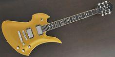 B.C.RICH / Mockingbird Pro X Hardtail Gold Guitar Free Shipping! δ, $809.00