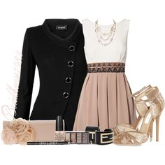 Nudely Pastel by brickhouse1982 on Polyvore