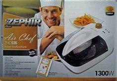 Friggitrice ad aria Zephir Air Chef Robot Multicottura