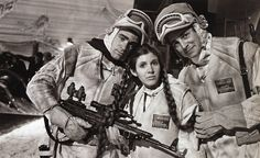 Treat Williams and Carrie Fisher