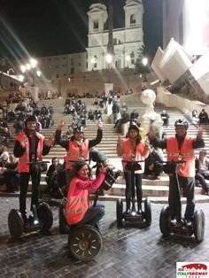 Happy #segway tours! Find and share your picture! #rome #milan #florence