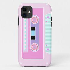 Pink Pastel Cassette Case-Mate iPhone Case