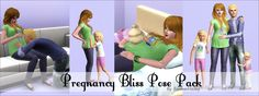 ForeverHailey Creations: Pregnancy Bliss Pose Pack