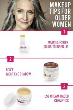 5 makeup tips for baby boomer women by 64 year old super model Cindy Joseph!