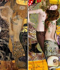 "Bringing art to life, pt III: Kattaca vs Klimt    Kattaca are no strangers here. I've previously mentioned their mad art directing skills and in this editorial lensed by Moisés González and aptly called ""La esencia de Klimt"", they faithfully reproduced Austrian artist Gustave Klimt's work."