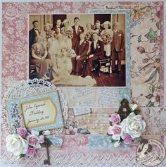 Scraps of Life: A Ladies' Diary Layout - Graphic 45