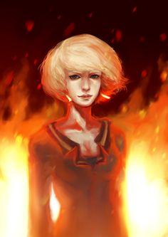 Zankyou no Terror fan art: Five (M: Really nice art)