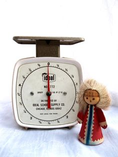 Vintage Scale60'sIdealDeskOfficeKitchen from by tessiemay on Etsy, $22.00