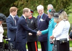 Princes William and Harry open the Help for Heroes Recovery Centre. May 2013.