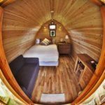 The Continental Camping Hut from Newfoundland Lodges - Pod gallery Shed To Tiny House, Micro House, Cabin Tent, Amazing Spaces, Small Living, Lodges, Cottage, Architecture, Gallery