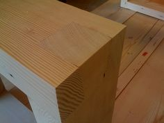 Dining Table Dove tailed leg joints