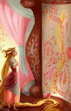 Desenhos de Rapunzel