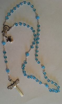 Happy Easter everyone! I just wanted to share a few pictures of some Rosary Beads I have made in the past being the weekend that it is. Happy Easter Everyone, Sweet Lord, Rosary Beads, Always And Forever, Diys, Jewellery, Chain, Bracelets, Blog