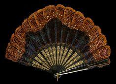 Fan Date: fourth quarter 19th century Culture: British Medium: Wood, feather, metal