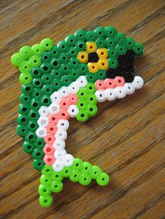 Perler Bead Bass Fish by Kid's Birthday Parties, via Flickr