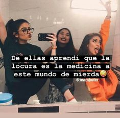 Wowowo °-°°<°[°]°°°]°[°[ Funny Spanish Memes, Spanish Quotes, Funny Memes, Besties Quotes, Best Friend Quotes, Love Phrases, Love Words, Frases Bff, Bff Images