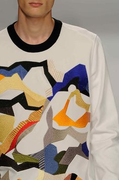 wgsn: Intriguing intarsia knits with touchy-feely allure at #Iceberg