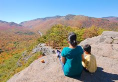 Summit of Owl's Head in Lake Placid, New York | While staying at Lake Placid Lodge 6w