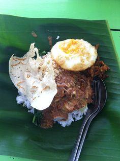 Nasi Pecel Bu Udin Yogyakarta Indonesia