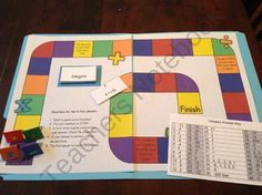 Integer Board Game - Math Game - Computation - Review Game product from Amy-Alvis on TeachersNotebook.com