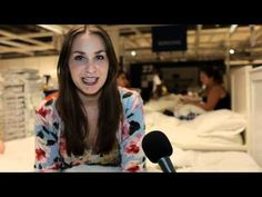The IKEA Sleepover- #IKEA Australia invited 100 lucky #Facebook fans to the ultimate experience- a sleepover in the store. The night came complete with massages, movies and bedtime stories read by celebrities. #experiential marketing