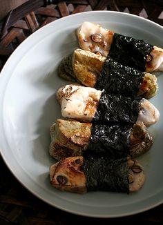 Isobeyaki (Japanese Grilled Mochi)