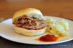 Schöner Tag noch: Pulled Pork aus dem Backofen, umwerfend gut!