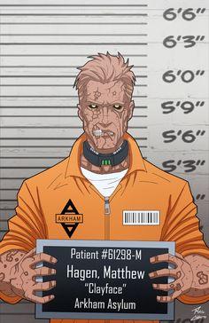 Matt Hagen locked up by phil-cho on DeviantArt