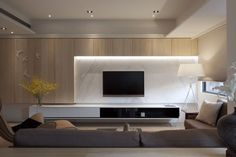 70 Rustic Tv Wall Design Ideas For Home 29 - homydezign Living Room Tv, Living Room Interior, Home And Living, Kitchen Interior, Living Area, Modern Interior, Interior Architecture, Interior Design, Tv Wall Design