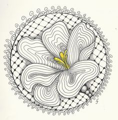 Pattern Play with Pens: Tangle Journal 2012 - week two    - #DRAW #ZENTANGLE #ZENDALA #TANGLE #DOODLE #COLOR #COLOUR #FARBE