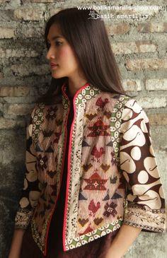 batik amarillis's torera vest  AVAILABLE at www.batikamarillis-shop.com it's a matador/bullfighter inspired jacket ..This is when the very feminine style meet masculine look of the tuxedo or the toreador silhoutte...