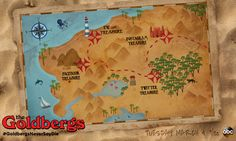 Treasure Map Illustration on Behance