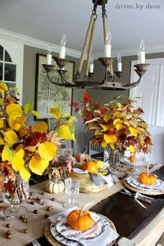 My Thanksgiving Table & a Favorite Recipe - Driven by Decor
