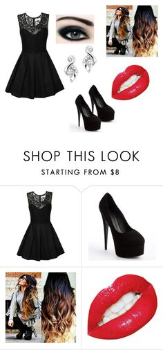 """Funeral"" by skylarmariex ❤ liked on Polyvore featuring True Decadence, Giuseppe Zanotti and Max Factor"