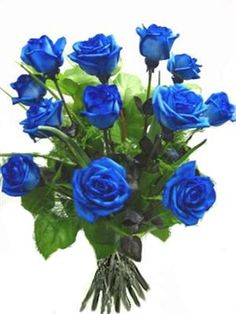 Blue Roses for an original Valentine gift