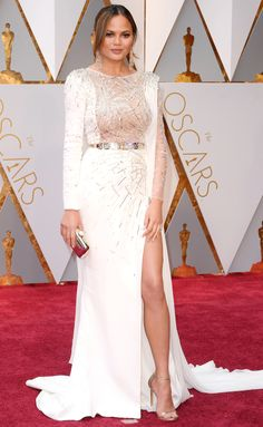 CHRISSY TEIGEN at The Oscars 2017 is one of my favorite best dressed
