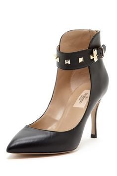Studded Ankle Strap Pump - Yes, please!