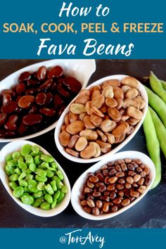 All About Fava Beans: How to Cook, Soak, Peel, and Freeze – Follow this tutorial for all things fava beans, including cooking, storage, and freezing techniques. | ToriAvey.com #cookingtutorial #howto #favabeans #driedfavabeans #freshfavabeans #favabeanpods #favas #foodfacts #healthyfood #healthy #tutorial #vegan #vegetarian #TorisKitchen