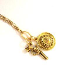 Pin Me! Cowboy Pendant by Linda Dunn Or Buy Me on URCrafti.com   ##brasspendant ##cowboy ##cowboyhat ##cute ##gift ##giftforher ##giftforhim ##goldchain ##goldpendant ##gun ##hot ##jewelry ##minimalist ##southwestpendant ##todayspick ##trendy ##vermeilchain #Pendant